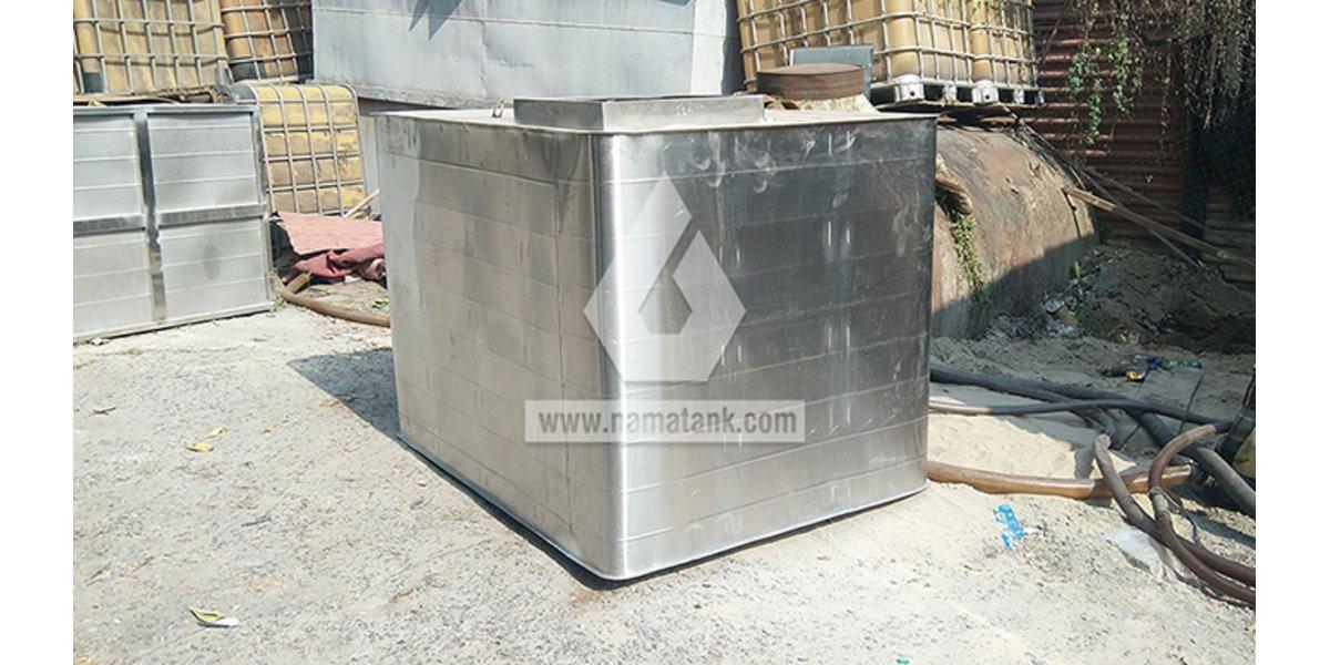 Bể nước inox sản xuất theo yêu cầu