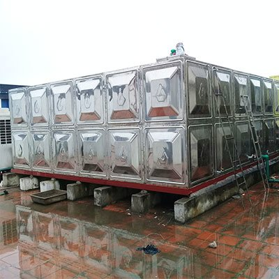 Bồn nước lắp ghép tòa nhà PVI