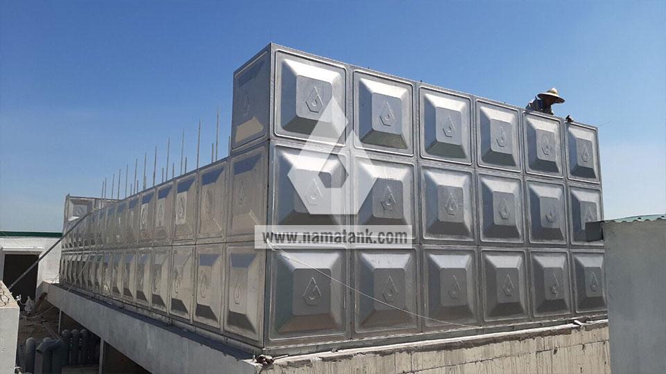 lắp ghép module bể lắp ghép inox