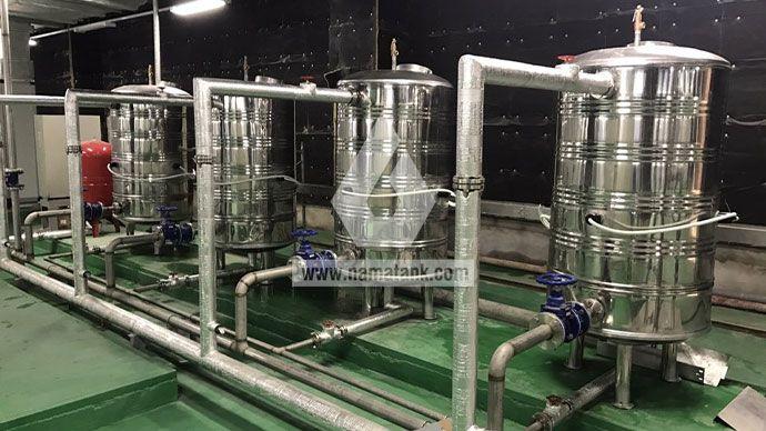 hệ thống bình bảo ôn inox bv 108
